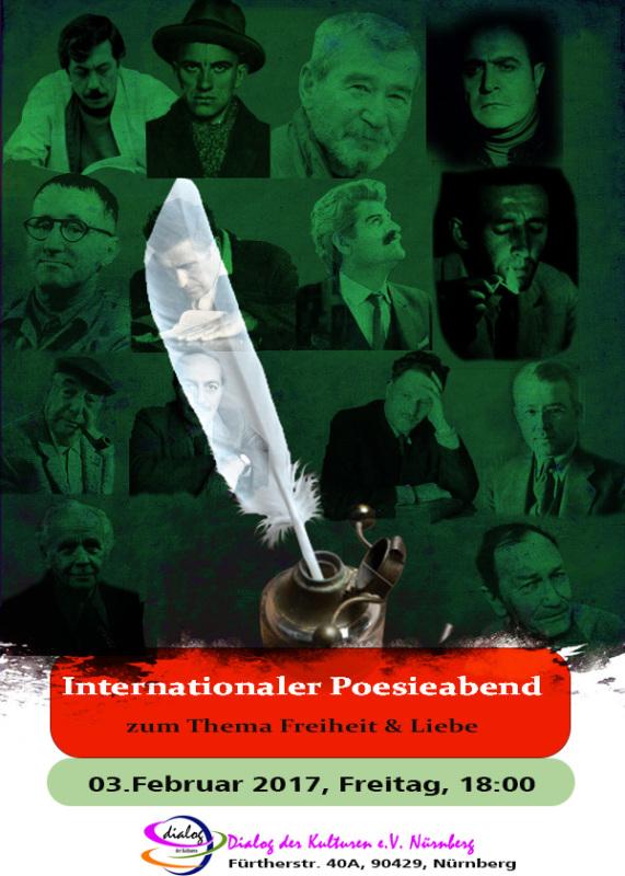internationaler Poesieabend